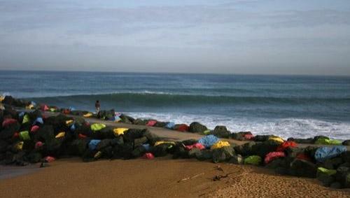Surf report Anglet Sables d'Or - France (64) 2008-04-24 12:00:00