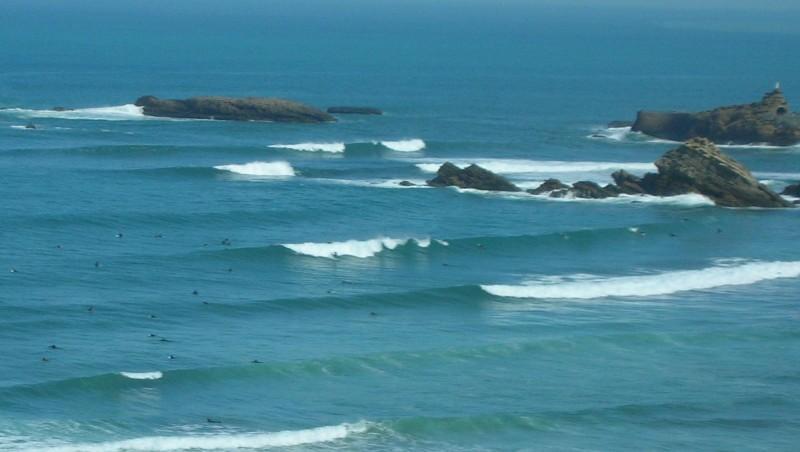 Surf report Côte des Basques - France (64) 2008-04-26 12:00:00