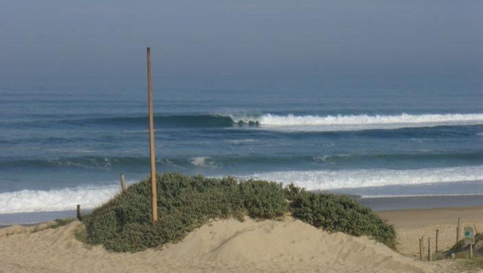 Surf report Seignosse - Les Estagnots - France (40) 2008-04-27 12:00:00