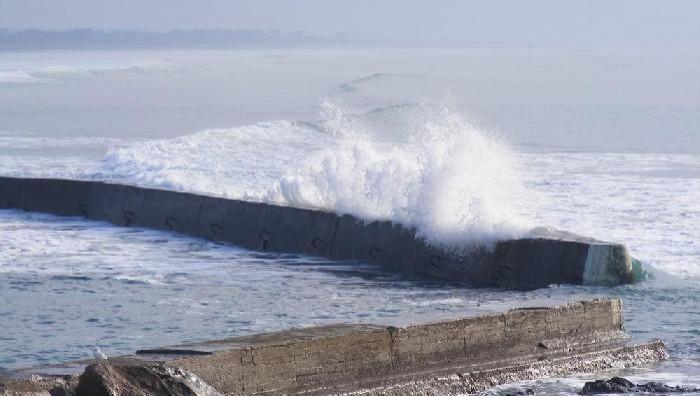 Surf report Penhors - France (29) 2009-01-08 14:00:00