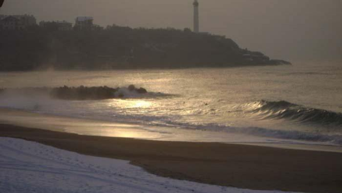 Surf report Anglet Surf Club - France (64) 2009-01-08 17:00:00