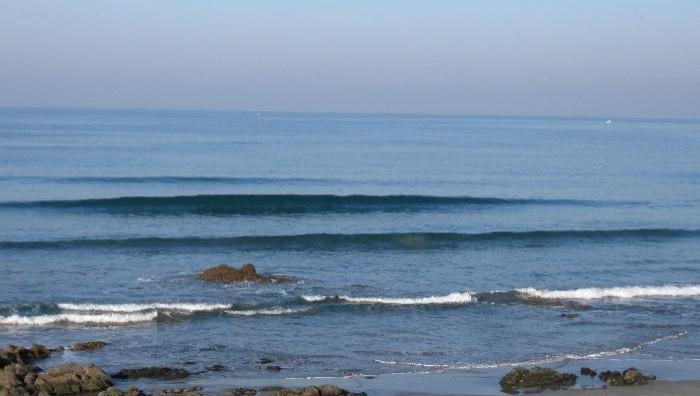 Surf report La Mauvaise Grève - France (29) 2009-01-09 15:00:00