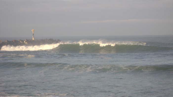 Surf report Anglet La Barre - France (64) 2009-01-17 10:00:00