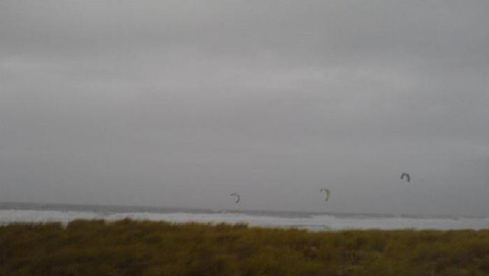 Wind report Lacanau Océan - La Nord - France (33) 2009-01-18 13:00:00
