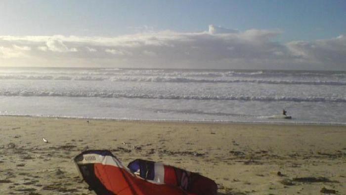 Wind report Le Porge - France (33) 2009-01-26 15:00:00