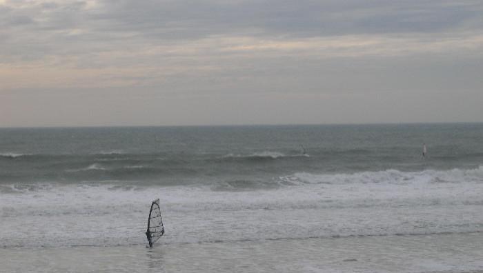 Wind report Plage de Mesperleuc - France (29) 2009-01-30 13:00:00