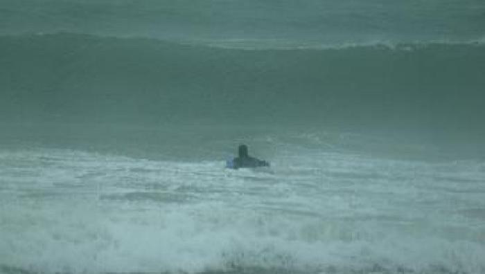 Surf report Kervel - France (29) 2009-02-09 16:00:00