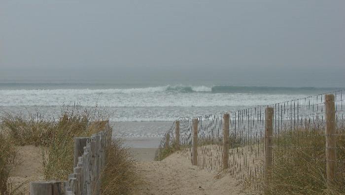 Surf report Sainte Barbe - France (56) 2009-02-21 12:00:00