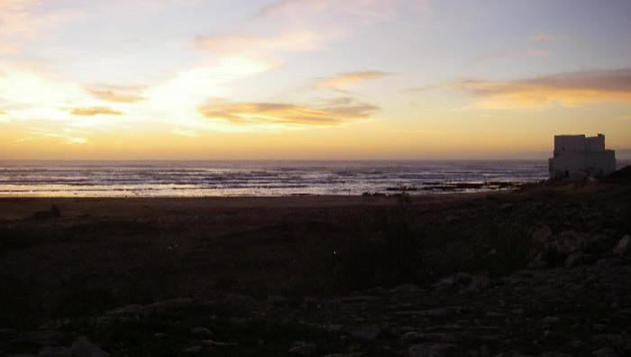 Wind report Sidi Kaouki - Marabout - Maroc (MA) 2009-01-22 14:00:00