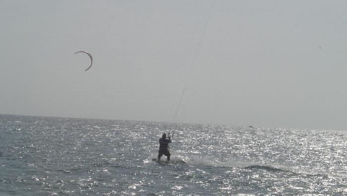 Wind report Cap-d'Agde - Plage Richelieu - France (34) 2009-04-24 12:00:00