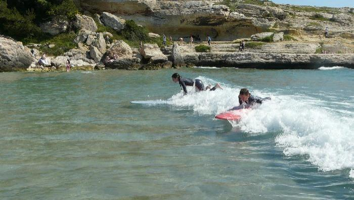 Surf report Plage du Verdon - France (13) 2009-05-02 11:00:00