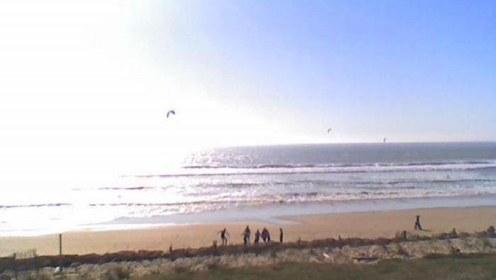 Wind report Lacanau Océan - La Nord - France (33) 2009-05-06 18:00:00