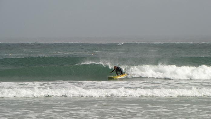Surf report Pors Carn - France (29) 2009-05-16 09:00:00