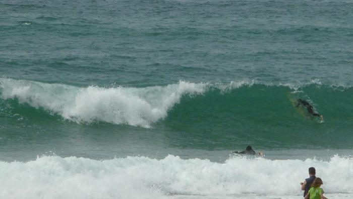 Surf report Mimizan - Plage Garluche - France (40) 2009-05-21 17:00:00