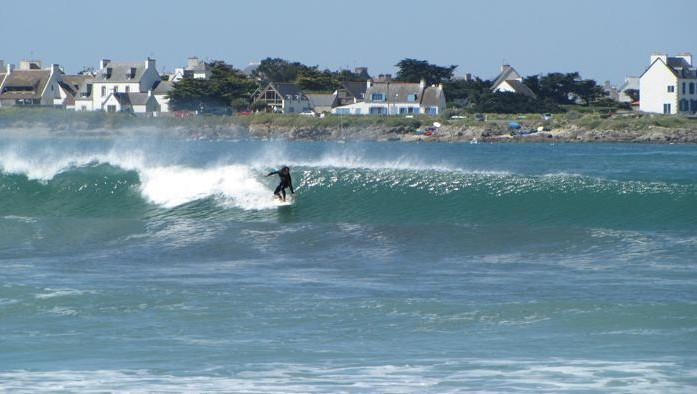 Surf report Pors Carn - France (29) 2009-06-01 10:00:00