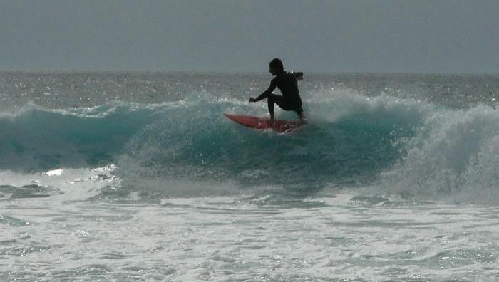Surf report Mimizan - Plage Garluche - France (40) 2009-07-21 16:00:00