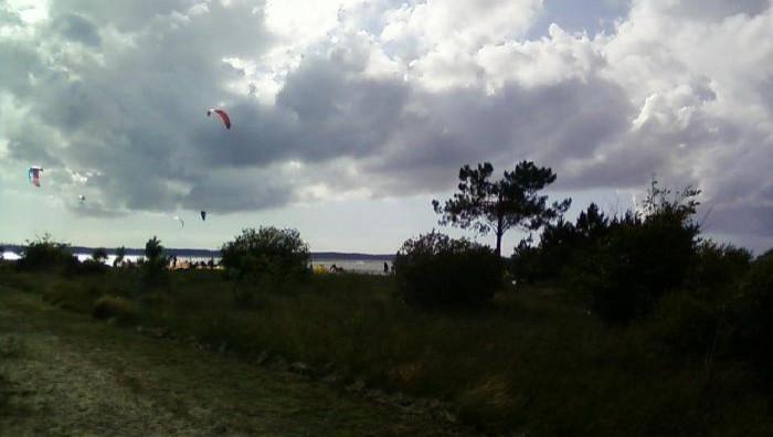 Wind report Hourtin - Lachanau - France (33) 2009-07-24 18:00:00