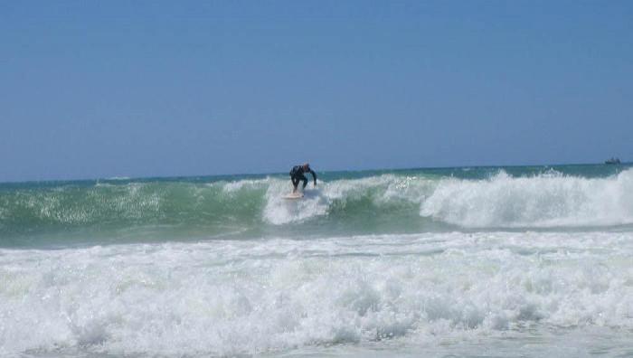 Surf report Lacanau Océan - La Nord - France (33) 2009-07-27 12:00:00