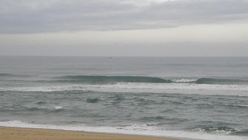 Surf report Vieux Boucau - France (40) 2009-08-03 10:00:00