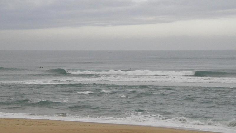 Surf report Vieux Boucau - France (40) 2009-08-03 14:00:00