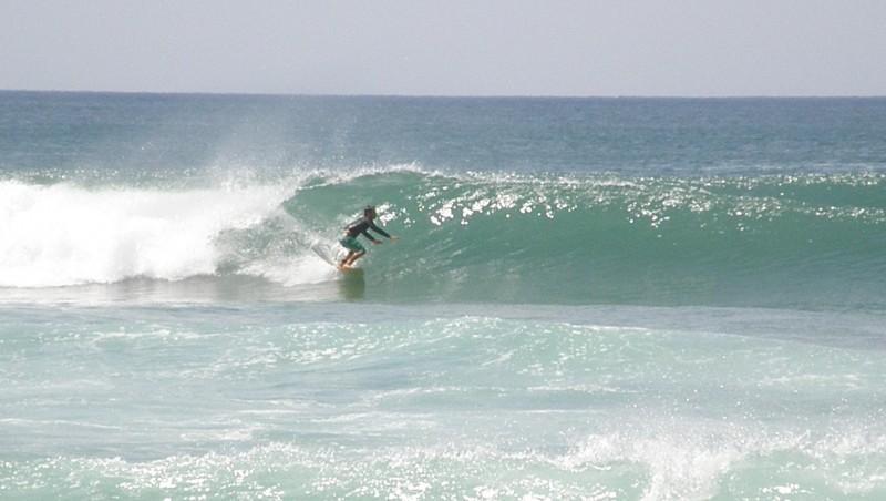 Surf report Vieux Boucau - France (40) 2009-08-04 14:00:00
