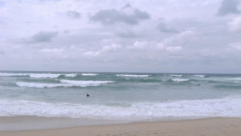 Surf report Vieux Boucau - France (40) 2009-08-07 14:00:00