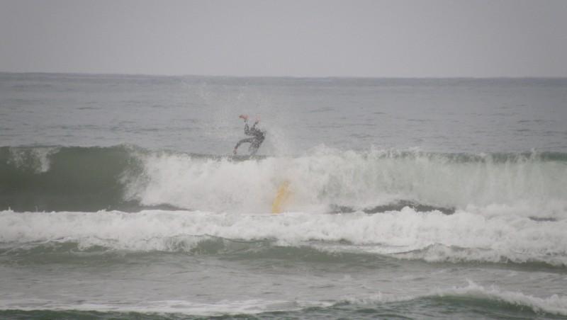 Surf report Vieux Boucau - France (40) 2009-08-08 15:00:00