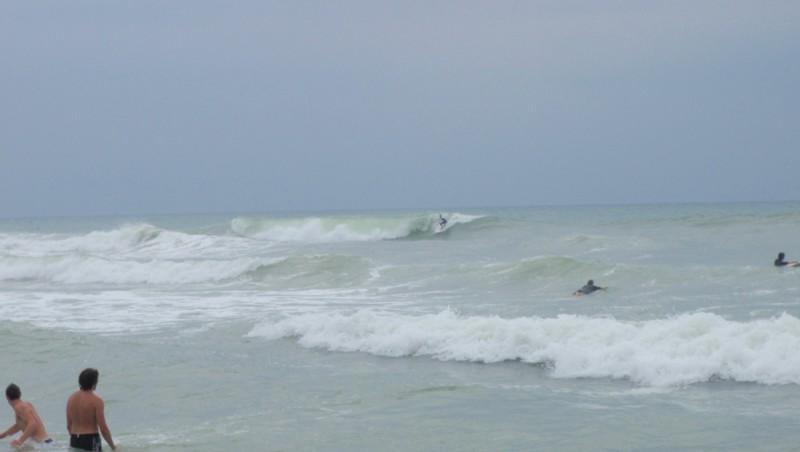 Surf report Lacanau Océan - La Nord - France (33) 2009-08-08 14:00:00