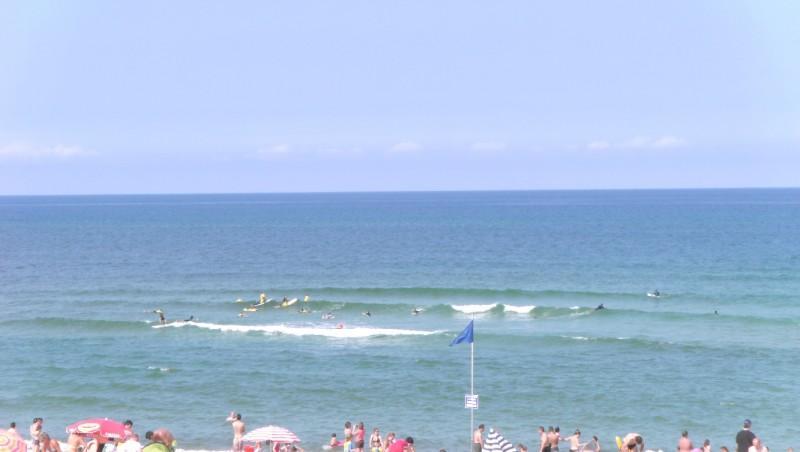 Surf report Vieux Boucau - France (40) 2009-08-11 13:00:00
