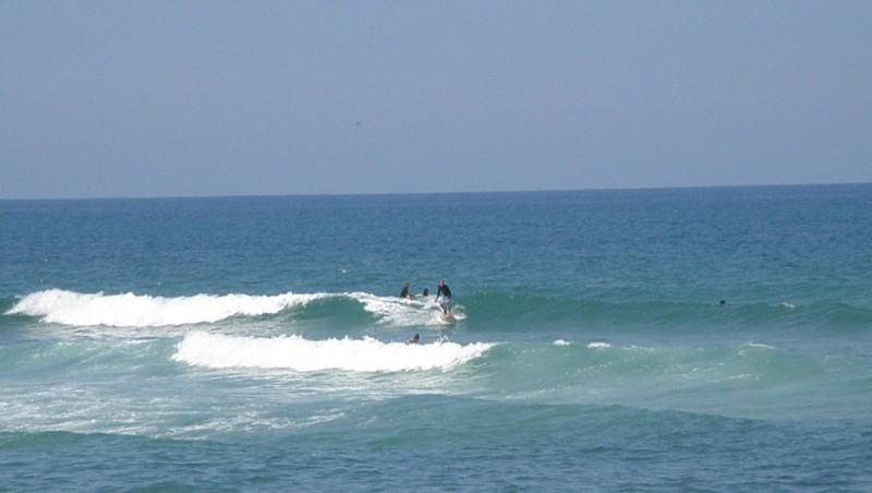 Surf report Vieux Boucau - France (40) 2009-08-12 13:00:00