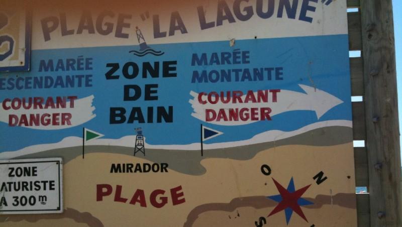 Wind report La Lagune - France (33) 2009-08-12 16:00:00