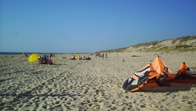 Wind report Biscarrosse Plage - France (40) 2009-08-12 18:00:00