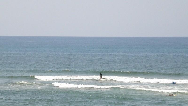 Surf report Vieux Boucau - France (40) 2009-08-13 15:00:00