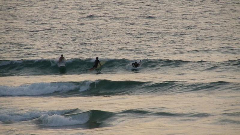 Surf report Vieux Boucau - France (40) 2009-08-16 18:00:00