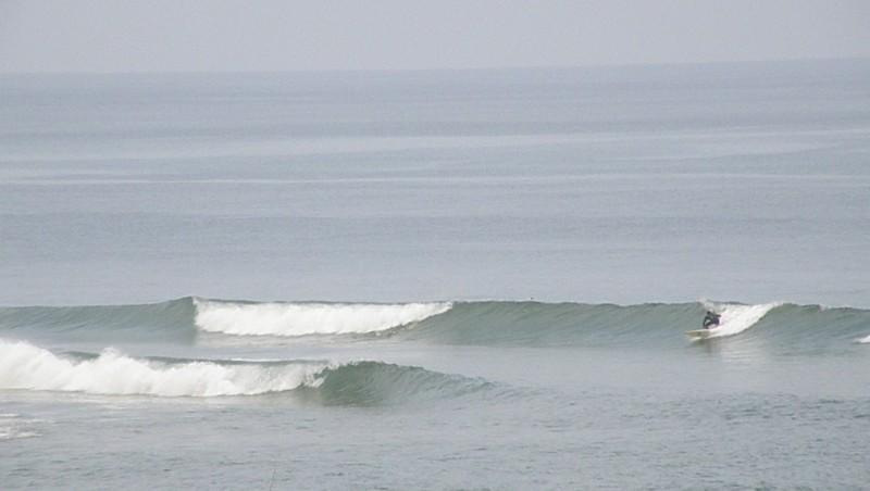 Surf report Vieux Boucau - France (40) 2009-08-18 13:00:00