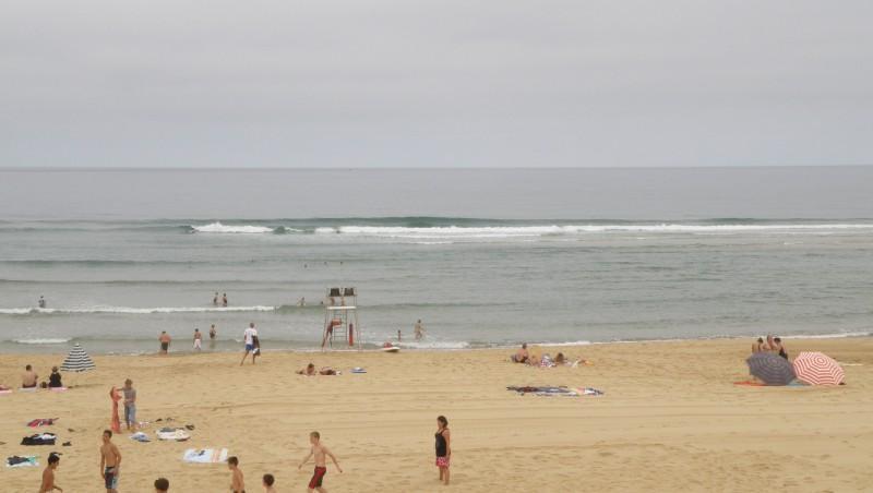 Surf report Vieux Boucau - France (40) 2009-08-19 12:00:00