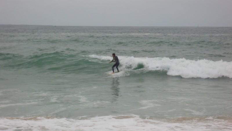 Surf report Quiberon - Port Blanc - France (56) 2009-08-22 09:00:00