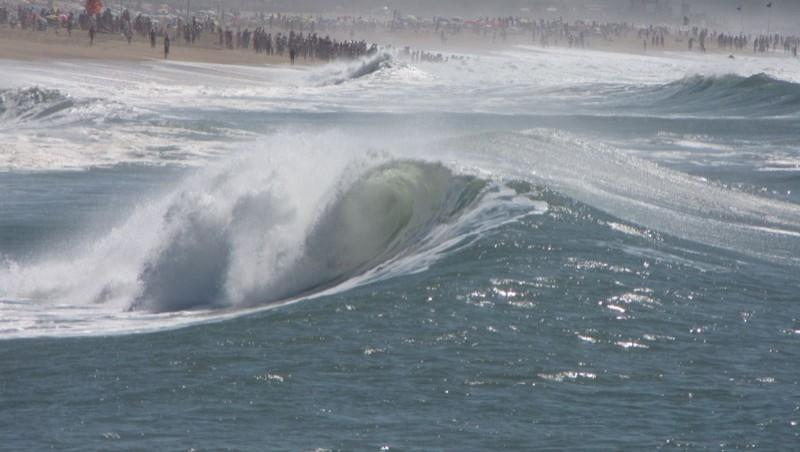 Surf report Anglet Les Cavaliers - France (64) 2009-08-22 17:00:00