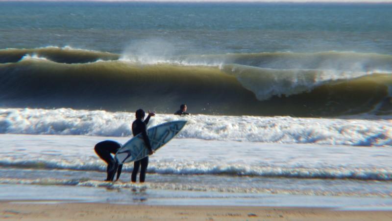 Surf report Montalivet - France (33) 2009-05-31 15:00:00