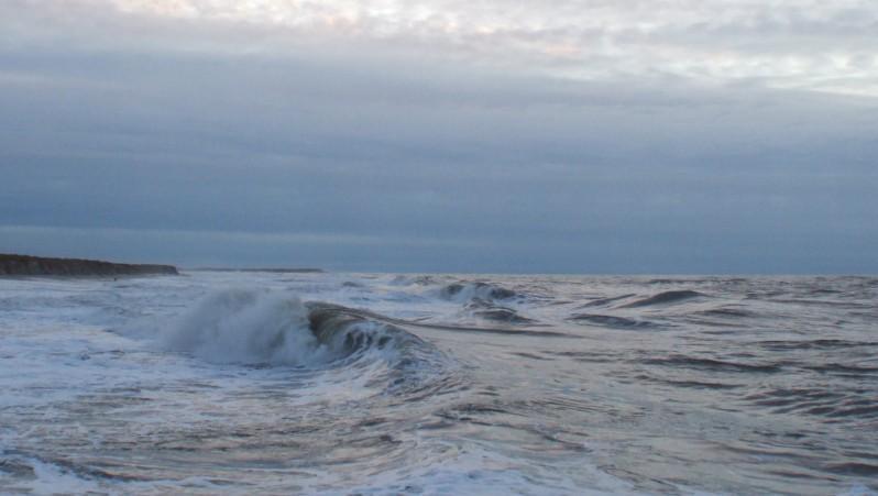 Surf report Pointe de Grave - France (33) 2009-02-11 17:00:00