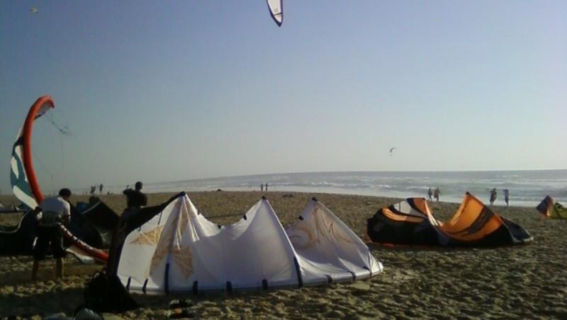 Wind report Biscarrosse Plage - France (40) 2009-08-27 19:00:00