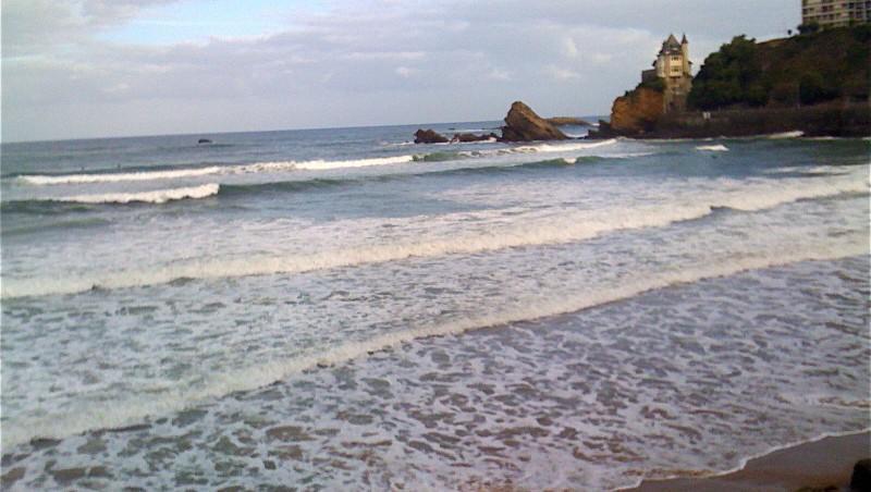 Surf report Côte des Basques - France (64) 2009-08-29 07:00:00