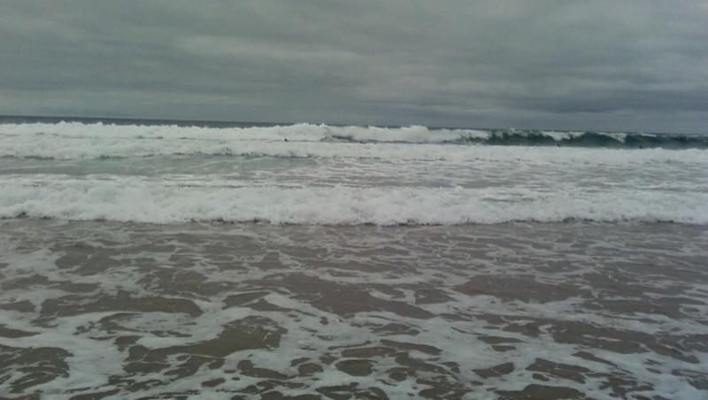 Surf report Blancs Sablons - France (29) 2009-08-27 13:00:00