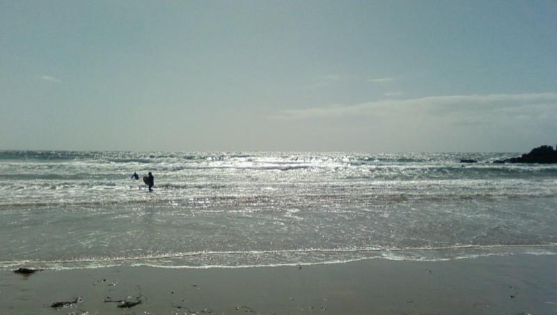 Surf report Quiberon - Port Blanc - France (56) 2009-08-28 16:00:00