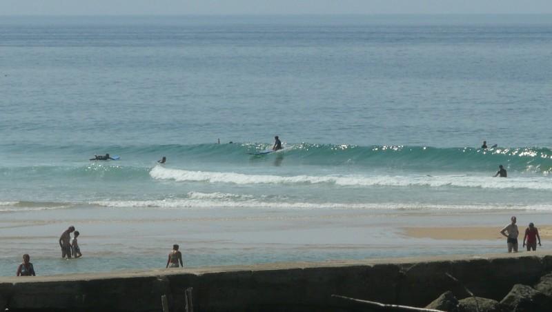 Surf report Mimizan - Plage Garluche - France (40) 2009-08-31 15:00:00