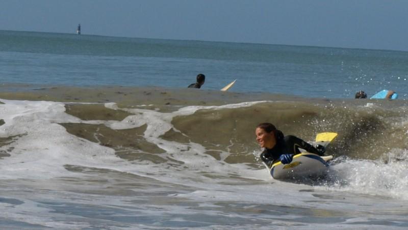Surf report La Couarde - France (17) 2009-08-29 10:00:00