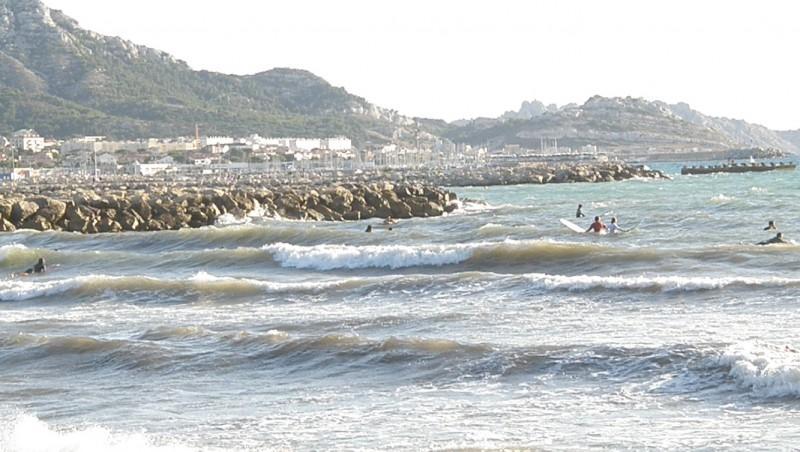 Surf report Le Prado - France (13) 2009-09-04 18:00:00
