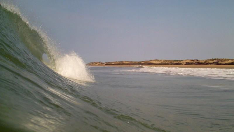 Surf report Montalivet - France (33) 2009-09-06 10:00:00