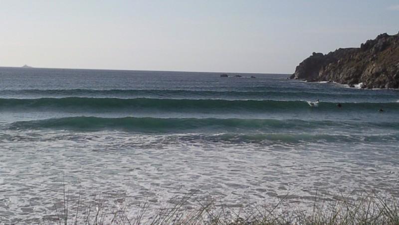 Surf report La Baie des Trépassés - France (29) 2009-09-06 14:00:00