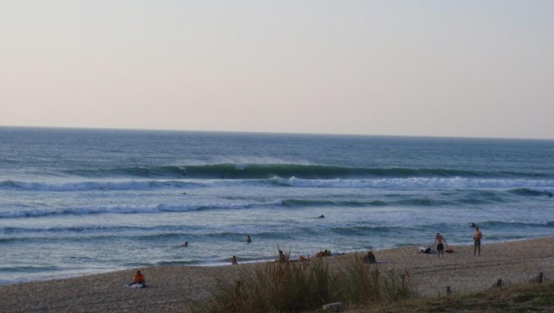 Surf report Lacanau Océan - La Nord - France (33) 2009-09-10 18:00:00